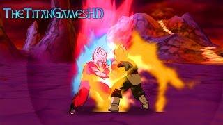 getlinkyoutube.com-Dragon Ball Z Shin Budokai 2 Mods - Goku Ssj Blue KaiokenX10 Vs Black Goku Ssj2