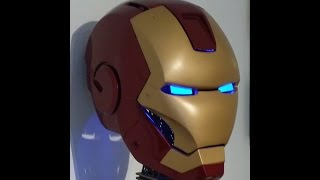 getlinkyoutube.com-Iron Man Helmet Toturial Pepakura