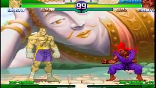 getlinkyoutube.com-「TAP/TAS」Street Fighter Zero 3 - Shin Gouki ; 真豪鬼