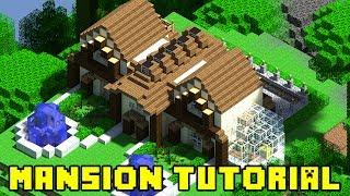 getlinkyoutube.com-Minecraft: Mansion Build Tutorial Xbox/PS3/PE/PC (Quick and Easy!)