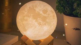 Enchanting 3D Moon Night Light