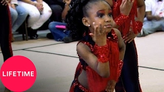 getlinkyoutube.com-Bring It!: Stand Battle: Baby Dancing Dolls vs. Diva Time Premiere Steppers (S1, E11) | Lifetime