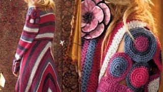 getlinkyoutube.com-#34 Motif Jacket, Vogue Knitting Crochet 2012