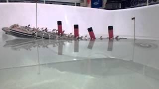getlinkyoutube.com-Ship paper model sinking part 1