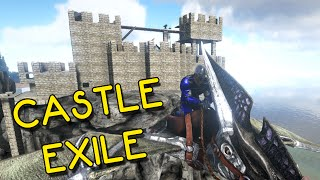 getlinkyoutube.com-ARK: Survival Evolved - Castle Exile (Sky Castle)