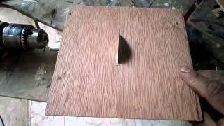 كيف تصنع اصغر دسك تقطيع فى العالم  ؟ بشكل بسيط ويقطع خشب وصاج وبلاستيك