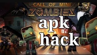 getlinkyoutube.com-Apk de call of mini zombies hack