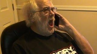 getlinkyoutube.com-Angry Grandpa Calls Dish Network!