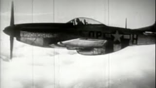 P-51 Mustang with WWII Footage
