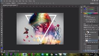 getlinkyoutube.com-Adobe Photoshop - วิธีการแต่งภาพสไตล์ Double exposure ภาพซ้อนภาพง่ายๆ แบบมีสไตล์ไม่เหมือนใคร