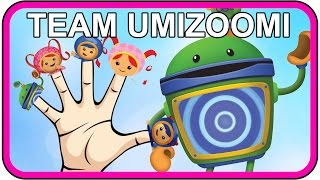getlinkyoutube.com-Finger Family Team Umizoomi Cartoon Movie Rhymes Daddy Finger Song for Children Fan Made