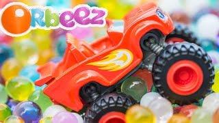 getlinkyoutube.com-BLAZE AND THE MONSTER MACHINES Nickelodeon Blaze Orbeez Adventure a Blaze Video Parody
