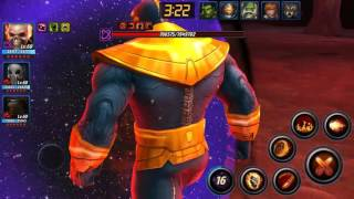 getlinkyoutube.com-MARVEL FUTURE FIGHT - WORLD BOSS - THANOS - BLADE SOLO THANOS