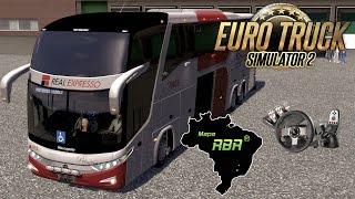 getlinkyoutube.com-Euro Truck Simulator 2 - Mapa #RBR Viação Real Expresso e Ônibus G7-1600 + G27