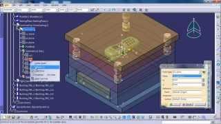getlinkyoutube.com-나무매뉴얼 카티아 둘러보기 - CATIA V5 Mold Tooling Design