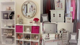 getlinkyoutube.com-ROOM TOUR!!!! Beauty Room - mi cuarto de maquillaje
