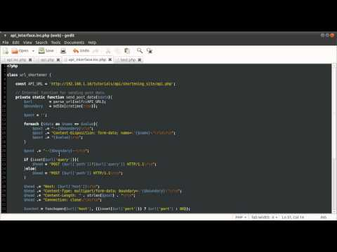 PHP Tutorial: Developer API [part 06]
