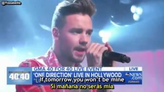 One Direction - Love You Goodbye (GMA) [Lyrics + Sub Español]