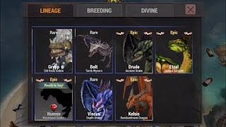 getlinkyoutube.com-War Dragons: Breeding Drude, Etzel & Kelsis!