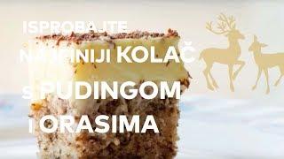 Ummm! Isprobaj recept za kolač s pudingom i orasima [100posto BUBBLE]
