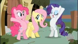"getlinkyoutube.com-La ""Mejorada"" Fluttershy, Rarity y Pinkie Pie vs. Iron Will 