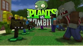getlinkyoutube.com-FNAF vs Mobs: Plants vs Zombies Challenge - Monster School (Five Nights At Freddy's)