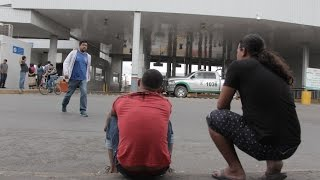Cubanos varados en Nuevo Laredo