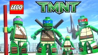 getlinkyoutube.com-LEGO Marvel Superheroes - TMNT (MOD) - Teenage Mutant Ninja Turtles
