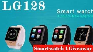 getlinkyoutube.com-Hindi | LG128 Waterproof Smart Watch for Giveaway | Sharmaji Technical