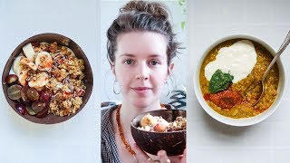 What I Eat in a Day | No Cooking [VEGAN]