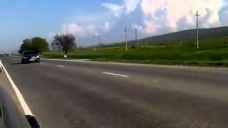 getlinkyoutube.com-Кортеж Путина в Чечне, жесть смотреть всем