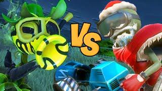 getlinkyoutube.com-Plants vs. Zombies: Garden Warfare - Mortal Kombat Style (All-star vs Toxic Pea)