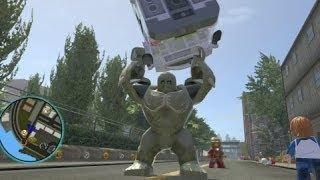 getlinkyoutube.com-LEGO Marvel Super Heroes (PS4) - Abomination Free Roam Gameplay