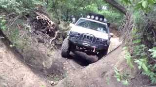 getlinkyoutube.com-SUMMER DRY RUN - IRON ROCK OFF ROAD LONG ARM TEST - XJ ZJ