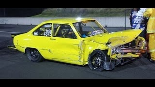 getlinkyoutube.com-DRAG RACING CRASH SIK100 HITS THE WALL AT SYDNEY DRAGWAY 19.12.2014