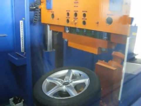 Тест на удар (обод) - колесные литые диски на Audi(Ауди).WSP Italy W561 Kassel