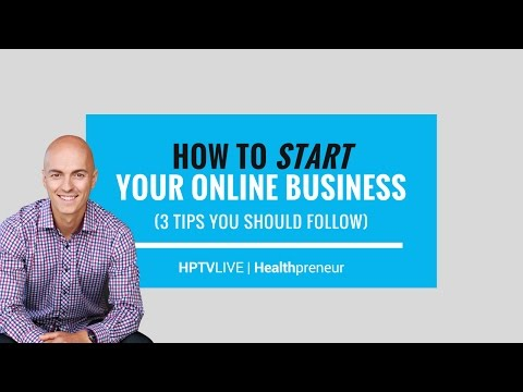 How to Start Your Online Business (3 Tips) | HPTV Live Ep. 14