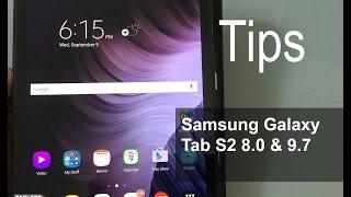 getlinkyoutube.com-Samsung Galaxy Tab S2 8.0 & 9.7 Tips and Tricks