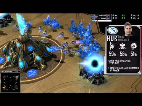 Capoch vs HuK- Game 1 - WCS America Challenger League Group C