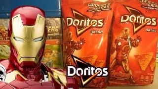 getlinkyoutube.com-Doritos Nacho Avengers La Era de Ultron Tarjetas Coleccionables Sabritas