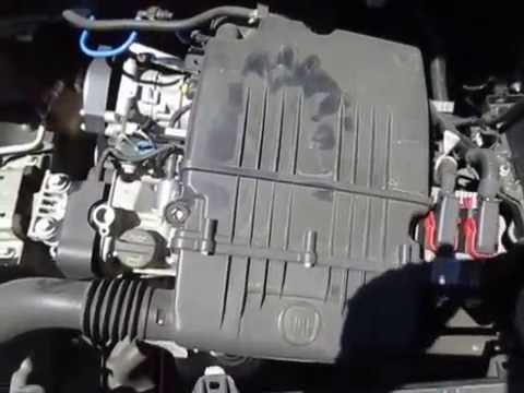 FI19291 FIAT PUNTO POP 1.4L 198A4000 MANUAL ENGINE TESTING