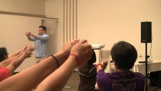 getlinkyoutube.com-Master Co - Pranic Healing in Saratoga Video 4of 6