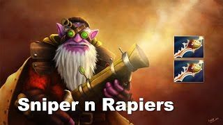 Chomy Rapier Sniper 2 Good - Secret vs M5 Dota 2