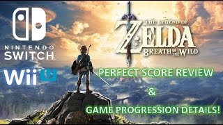 Zelda: Breath of the Wild - Amazing Review & Game Progression Details!