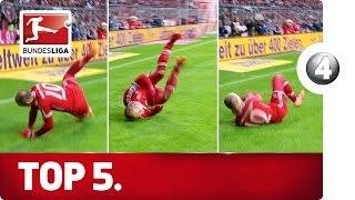 5 Worst Goal Celebrations - Advent Calendar 2015 Number 4