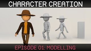 getlinkyoutube.com-Blender Character Creation: Modelling