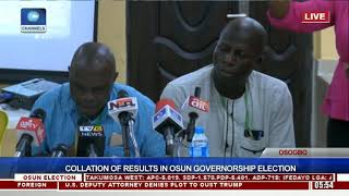 Collation Of Results In Osun Governorship Election Pt.16 |Osun Decides|