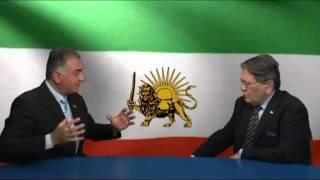 مصاحبه شاهزاده رضا پهلوی با دکتر علیرضا نوری زاده - برنامه پنجره ایی رو به خانه پدری