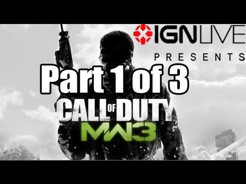 Modern Warfare 3: IGN  Exclusive Livestream (Part 1/3) [HD]