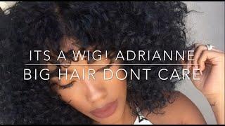 getlinkyoutube.com-Big Curly Hair!: It's a Wig! Adrianne